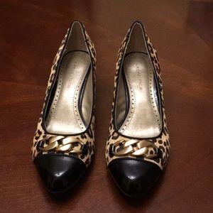 Adrienne vittadini shoes animal prints size 81/2